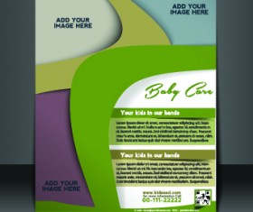 Business flyer and brochure cover design vector 03