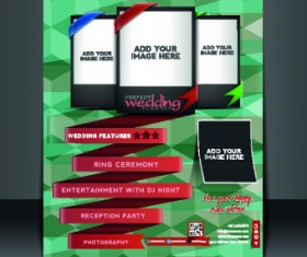 Business flyer and brochure cover design vector 30