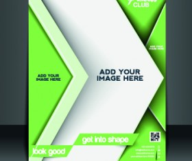Business flyer and brochure cover design vector 05