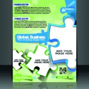 Link toBusiness flyer and brochure cover design vector 06