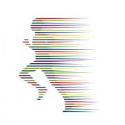 Link toSet of running people vector 04