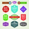Different sale label vector set 01