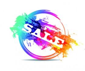 Creative stamp logo vector 07