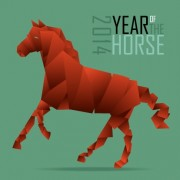 Link to2014 year horse background