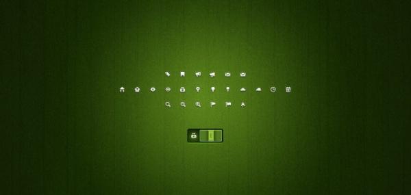 Mini web pad icons