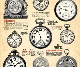 Old Clock design elements