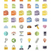 Link to136 kind web icons