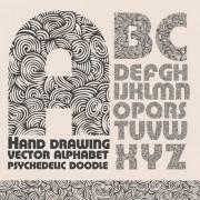 Link toHand drawn alphabets design vector 05