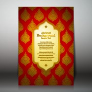 Link toArabic style background vector 05