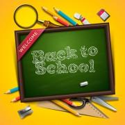 Link toBack to school creative background 07