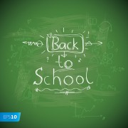 Link toBack to school creative background 09