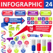 Link toBusiness infographic creative design 142
