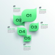 Link toBusiness infographic creative design 154