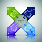 Link toBusiness infographic creative design 174