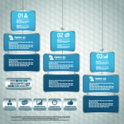 Link toBusiness infographic creative design 175