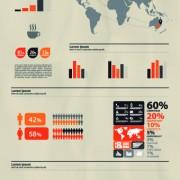Link toBusiness infographic creative design 182