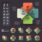 Link toBusiness infographic creative design 187