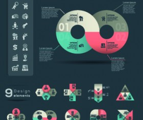 Business Infographic creative design 190