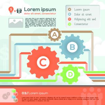 Business Infographic creative design 198