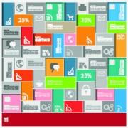 Link toBusiness infographic creative design 223