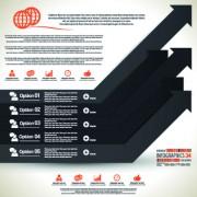 Link toBusiness infographic creative design 227
