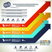 Link toBusiness infographic creative design 228