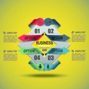Link toBusiness infographic creative design 250