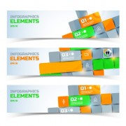 Link toCreative business banners elements vector 01