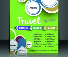 Business flyer and brochure cover design vector 60