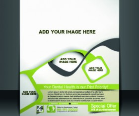 Business flyer and brochure cover design vector 62