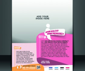 Business flyer and brochure cover design vector 70