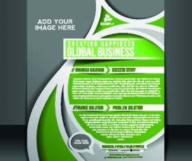 Business flyer and brochure cover design vector 73