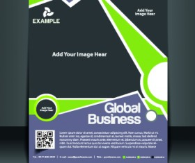 Business flyer and brochure cover design vector 74