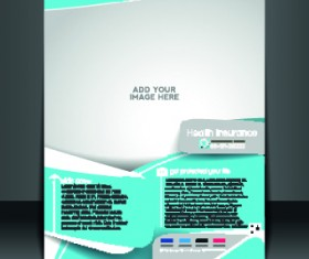 Business flyer and brochure cover design vector 76