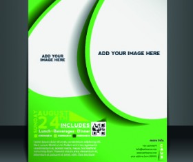 Business flyer and brochure cover design vector 77