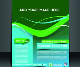 Business flyer and brochure cover design vector 80