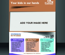 Business flyer and brochure cover design vector 81