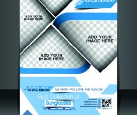 Business flyer and brochure cover design vector 83