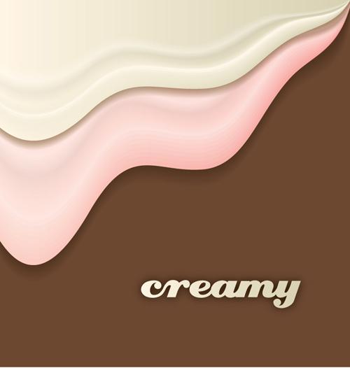 Cake background vector 01