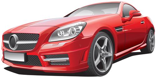 Car design template vector 02