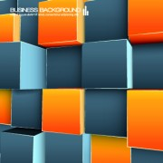 Link toColored cubes background vector 01