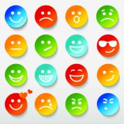 Link toDifferent face expression icon vector 01