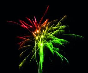 Fireworks Effect background vector 03