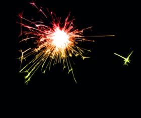 Fireworks Effect background vector 04