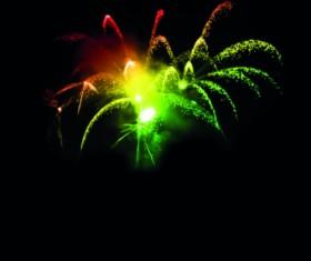 Fireworks Effect background vector 05