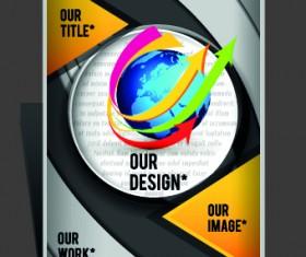 Modern Flyers and brochure design vector 03