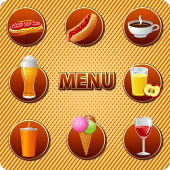 food drink vector various clip format eps drinks