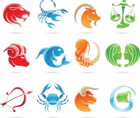 Creative Horoscope design vector 03