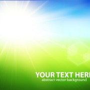 Link toNatural with sun background vector 04