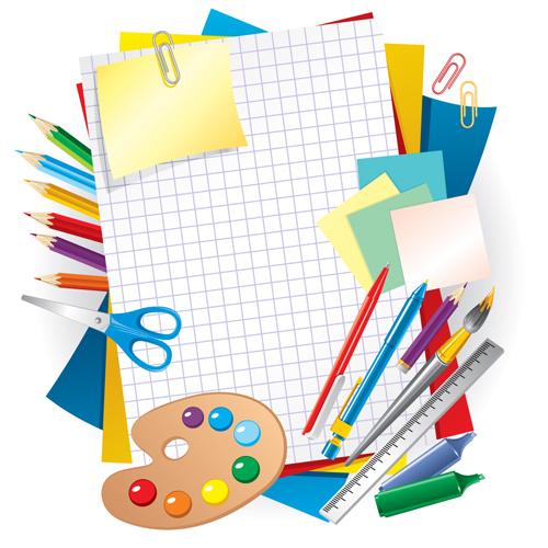 Set of School design elements vector 08 - Vector Other ...